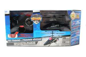 JADA BADGE CITY AIR COMMAND REMOTE CONTROL HELICOPTER R/C 3 CHANNEL