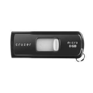 SanDisk 8GB Cruzer Micro USB Flash Drive Black 8 GB