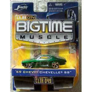 Jada Dub City Big Time Muscle Green 69 Chevy Chevelle SS 1