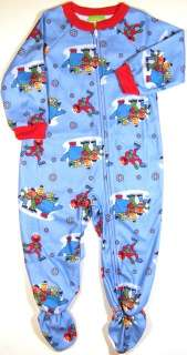 SESAME STREET ELMO COOKIE FLEECE BLANKET SLEEPER PJ 2T