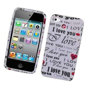 I Love You Soft Silicone Skin Gel Cover Case for AT&T
