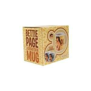 Bettie Page Leopard Mug