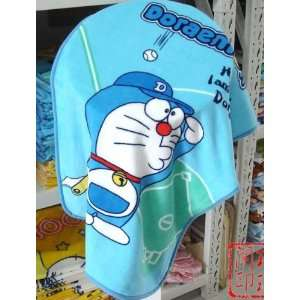 smaill size baby kid child gift Doraemon Car Bed Fleece Baby Blanket