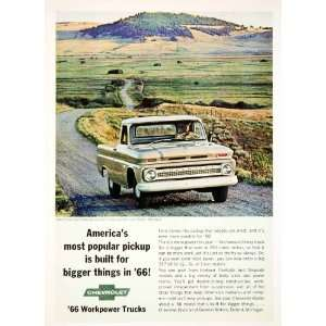1965 Ad Chevrolet Dillon Montana Fleetside Pickup Truck