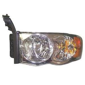 02 03 DODGE RAM PICKUP (NEW STYLE) Left Headlight (2002 02