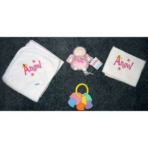 Angel Baby Gift Set with Gund   Pink   Great Shower Gift