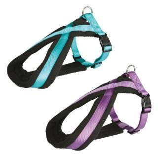 Medium Padded Soft Dog Harness Assorted Colours Collie Beagle