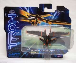 TRON LEGACY Diecast ONE MAN LIGHT JET series 2