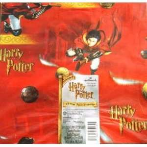 Harry Potter Red Quidditch Gift Wrap Wrapping Sheets