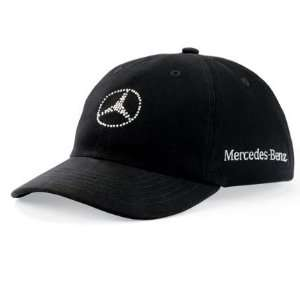Mercedes Benz Womens Crystal Logo Cap Automotive