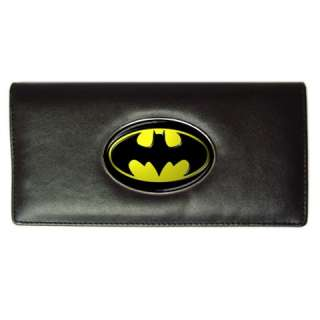 BATMAN LOGO Gift Ladies Long Wallet Credit Card Holder