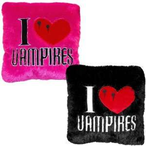 Vampires Throw Pillow Bedroom Decor. Select Color Black Toys & Games