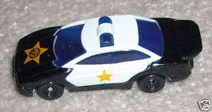 McDonalds Toy 1997 Mattel Hot Wheels #8 Police Car