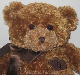 Rare GUND COMFORT CUB 45643 Plush Brown Teddy Bear Locket Stuffed