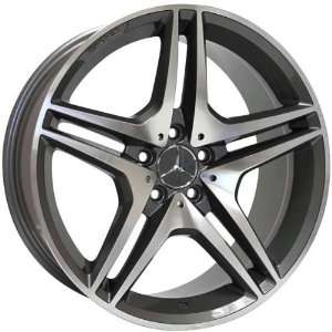 Eurosport MB8 20x8.5 20x9.5 Mercedes Benz C E Class Wheels Rims