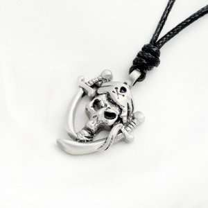 Necklace Pendant Jewelry Pirate Pewter Silver Factory Direct Vietguild