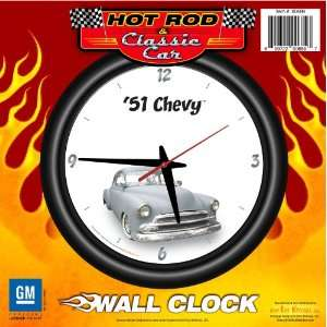 1951 Chevy 12 Wall Clock   Chevrolet, Hot Rod, Classic Car