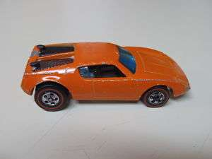 1973 Red Line Hot Wheel XPLODER RARE FLOURESCENT ORANGE 2 Pak Only
