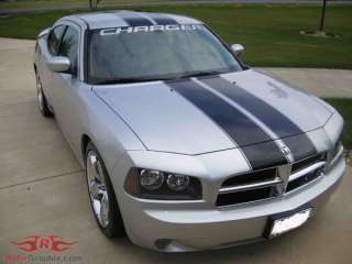 2006 & Up Dodge Charger Rally Stripe Kit Stripes Decals