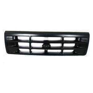 FD07086GC MT5 Ford Truck Primed Black Replacement Grille Automotive
