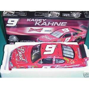 2008 Kasey Kahne #9 Budweiser Bud Allstate 1/24 Action Car of Tomorrow