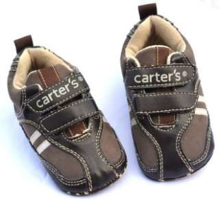 Dark brown new infants toddler baby boy walking shoes size 2 3 4