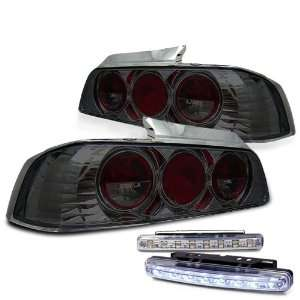 Eautolight Honda Prelude Altezza Tail Light Lamps Smoke with DRL 8 LED