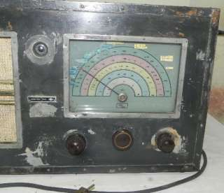 HUGE RARE GERMAN WWII ARMY AIRFORCE RADIO SEIBT ER 1 1940