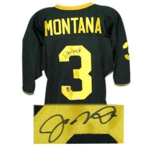 Joe Montana Autographed Custom Throwback Jersey Sports