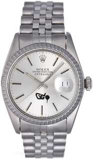 Datejust Mens Steel Watch 16030 with Greensboro Open PGA Logo Dial