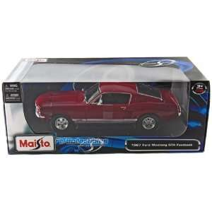 Ford Mustang GTA Fastback Red 1/18 Diecast Model Car Toys & Games