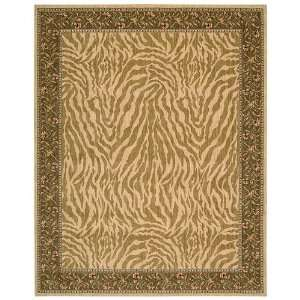 Andrea Stark Home Collection Zebra 100pct Wool Rug   2 3 x 8