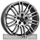 Slot Mag Alloy Wheels & Continental Tyres   FORD MONDEO 4 STUD