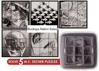Escher Mirror Art Brain Teaser Puzzle Game Logic Toy