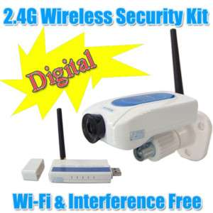WIFI FREE Wireless Camera Kit Home Security DVR System