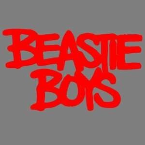 BEASTIE BOYS (RED) DECAL STICKER WINDOW CAR TRUCK TRAILER Automotive