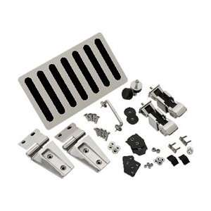 Kentrol 30588 Stainless Steel Hood Kit Automotive