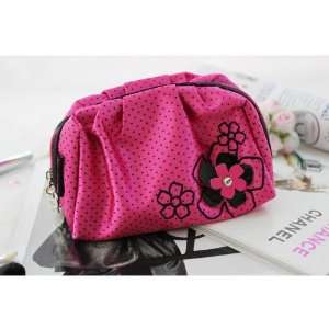 New Adorable Daisy Love Hot Pink Cosmetic Pouch Beauty