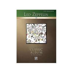 Led Zeppelin III   Bass Guitar Personality Musical