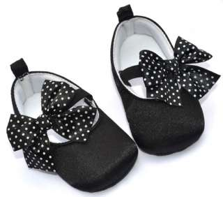 Black Mary Jane kids toddler baby girl shoes size 2 3