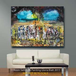 Original Abstract Modern Contemporary Paintings by Canadian Artist