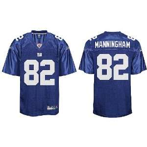 Mario Manningham New York Giants Blue Youth Replica Jersey