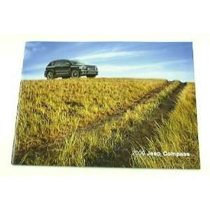 2009 09 Jeep COMPASS Truck SUV BROCHURE Sport Limited