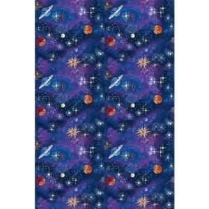 Joy Carpets Space Explorer Kids Area Rug, 12 x 8 ft.