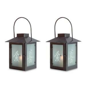 Oriental Asian Candle holder Lantern Candle Holder