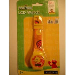 Sesame Street LCD BIG BIRD Wrist Watch