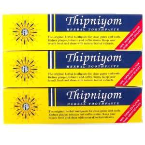 Thipniyom Thai Herbal Fluoride Free Toothpaste 160g (3
