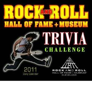 Rock & Roll Hall of Fame Trivia 2011 Boxed Calendar