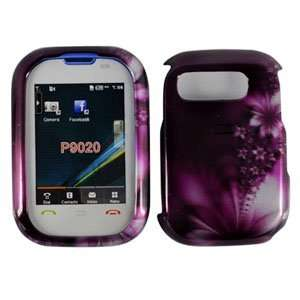 Purple Passion Flower Pantech P9020 / 9020 Pursuit Snap on