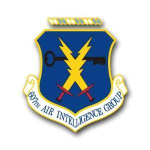 US Air Force 607th Air Intelligence Group Decal Sticker 3